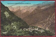 VERBANIA VALLE STRONA 33 MASSIOLA FORNO di OMEGNA Cartolina viaggiata 1935