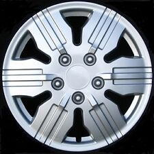 "UNIVERSAL HUBCAP WHEEL COVER 425 S 15"" REPLACEMENT CAP Silver Painted METAL CLIP"