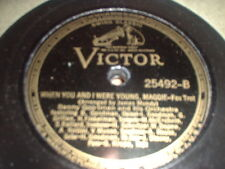 78RPM Victor 25492 Benny Goodman, When U Were Young Maggie/Swing Low Sw E- to E