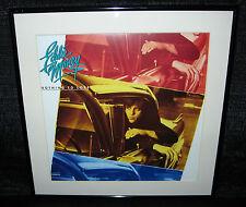 "EDDIE MONEY Nothing To Lose (Framed Original 1988 U.S. ""In-Store"" Promo Flat)"