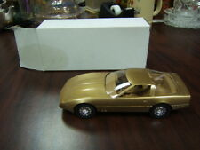 1986 Chevrolet Corvette Dealer Promo model gold