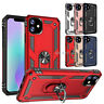 For iPhone 11 Pro Max Shockproof Phone Case Cover Armor 360 Stand Ring Holder