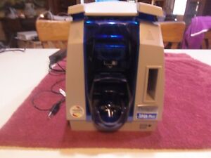 Datacard SP25 Plus Color Plastic ID Card Printer With Power Cord
