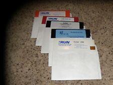 Lot of 5 ReRun Commodore 64 C64 Disks