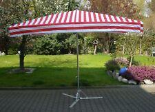 2 x 3 m Profimarktschirm Marktschirm Verkaufsschirm Schirm inkl. 20 kg Fuß !!!