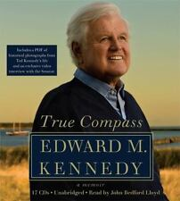 True Compass : A Memoir by Edward M. Kennedy (2009, CD, Unabridged)