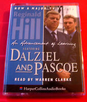 Reginald Hill Advancement Of Learning Dalziel &Pascoe 2-Tape Audio Warren Clarke