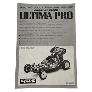 Kyosho Off-Road Racer Ultima Pro Rc Car Instruction Manual OZRC ML