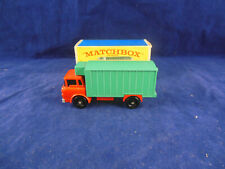 Matchbox Regular Wheels No. 44 c GMC Refrigerated Truck red cab and chassis