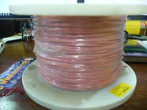 UL1015    18AWG  Pink    600V  Oil resistant  Stranded  1500ft
