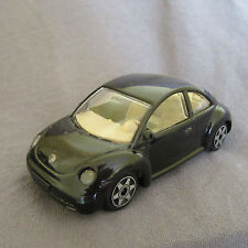 27E Burago Volkswagen New Beetle Blue VW 1:43