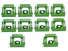 68-72 NOS GM Windshield Rear Window Skylight Moulding Molding Trim Clips 10pcs W
