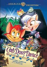 CATS DON'T DANCE animated movie - DVD - Region Free - SEALED