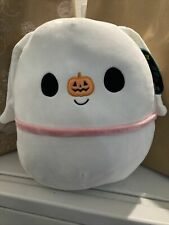 "Squishmallow Disney Nightmare Before Christmas Zero 12"" - 14"" NWT HTF Kellytoy"
