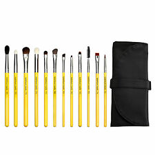 Bdellium Tools Studio Line Cosmetic Makeup Brush Eye Set 12 Piece Set with Pouch
