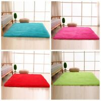 40X60CM Plush Rug Carpet Absorbent Bath Bathroom Floor Mat Shaggy Fluffy Carpet