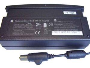 Original Apple PowerBook, iBook Clamshell, AC Mains Power Adapter - 45w m4896