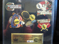 Chicago White Sox 2005 World Series Champs 5 Pin Set