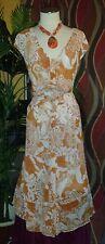 JONES NEW YORK  NWT $155 24W SURABAYA women's dress pumpkin beige long summer