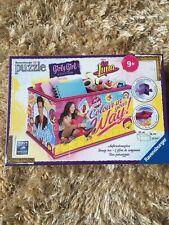 Jigsaw Puzzle GIRLY GIRL EDITION STORAGE BOX 216 PIECES DISNEY SOY LUNA
