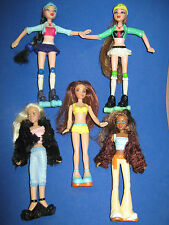 McDONALDS BARBIES - MY SCENE -MIXED LOT OF 5 FIGURES