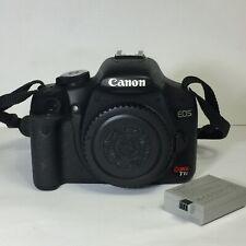 Canon EOS Rebel T1i 15.1MP CMOS Digital SLR DSLR Camera Body Only, Works Great