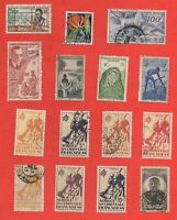 15 Stamps Africa Western - Possession French (K5142)