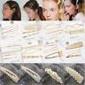 5Pcs/Set Pearl Hair Clip Hairband Comb Bobby Pin Barrette Hairpin Headdress