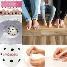 20Pcs Anti Slip Shower Strips Transparent Non-Slip Stickers Bath Safety Tape Mat