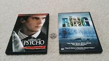 Dvd 2-pack, American Psycho (Christian Bale) & The Ring (Naomi Watts)
