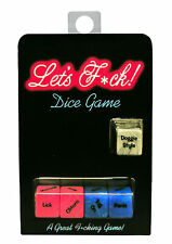Let's F*ck Dice Game Adult game