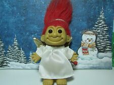 "CHRISTMAS ANGEL - 5"" Russ Troll Doll - NEW IN ORIGINAL WRAPPER"