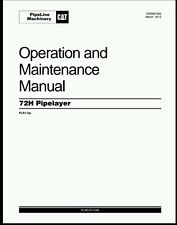 CAT Caterpillar 72h pipelayer operation maintenance Manual printable pdf