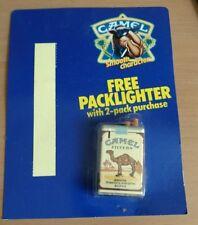 Camel Cigarettes Pack Lighter on sealed blister card
