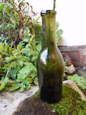4 /Petite bouteille en verre XIXe chopine 25 cl environ 17 cm de haut