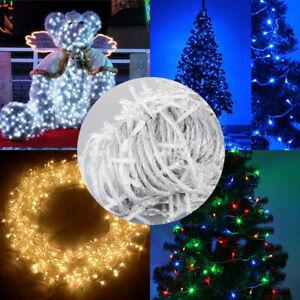 Outdoor Solar Xmas String Lights Garden Lamps Bulb Party Wedding AU/EU/UK Plug