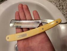 Rasoio Mano Libera BISMARCK misura 6/8  straight razor Shave ready Vintage