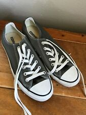 Gently Used Women's Converse Light Gray Tennis Shoes Size 8 – VERY GOOD conditio