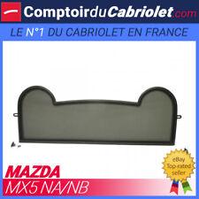 Filet anti-remous coupe-vent, Windschott, Mazda MX5 NA et NB cabriolet - TUV