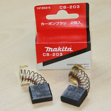 1 Pair Makita CB203 2414B Replacement Carbon Brushes 191953-5 Motors Tool