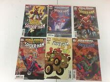 Spider-Ham 2020 Lot 1-4 Peter Porker Marvel Variant Wells Robson Lot of 6