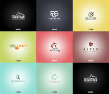 Professional and Creative Logo Design with Unlimited Revisions - 100% Custom