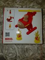 BRIO 4 Piece Rescue Helicopter Toddler Play Toy