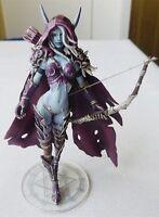 """World of Warcraft Forsaken Queen Sylvanas Windrunner 5.5"""" Action Figure Toy New"""