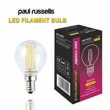 Golf Ball Shape LED 25w 40w Light Bulbs B22 E14 E27  Daylight Warm White Amber