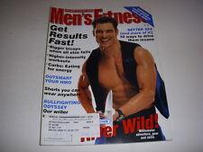 MEN'S FITNESS Magazine, May, 1998, TOM CORTESI COVER, BULLFIGHTING SCHOOL!