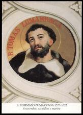 santino-holy card*B.TOMMASO ZUMARRAGA M. IN GIAPPONE