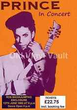 "Prince Concert Poster - RDS Dublin 1992 ""new"" A3 Size Reproduction"