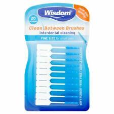 Wisdom Clean Between Interdental Brushes, Fine Size - 20 Pack