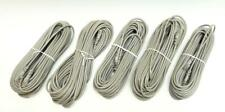 Lot x 5 Samsung Ssc-60 compatible Rj11E Security Camera Cable 60' Compatible